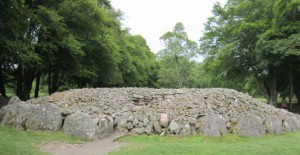 Clava Cairns: South-west passage grave