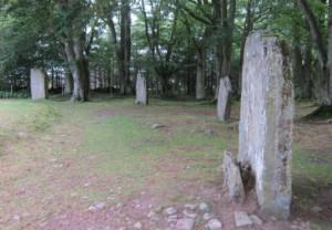 Clava Cairns: Stone Circle