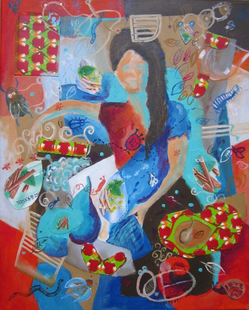 Olga, appel en kaneel