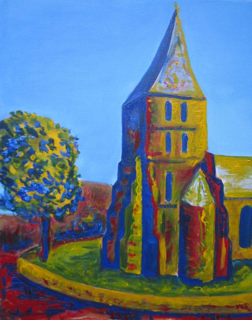 De kerk van Domburg