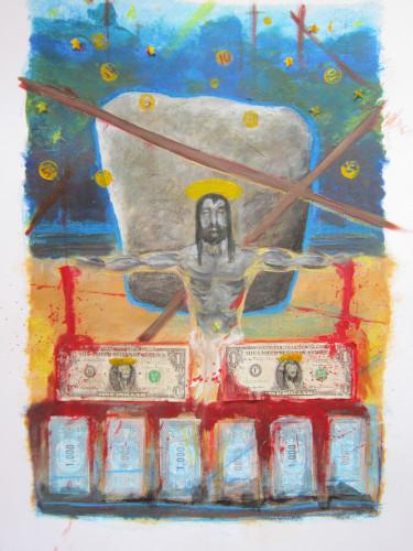 Menhir en geld
