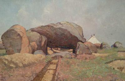 Schilderij van Johan Briede