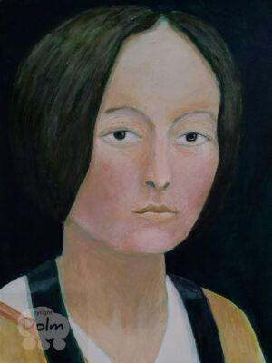Portret in renaissance stijl