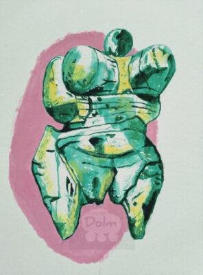 Kunst en prehistorie: Venusbeeld of moedergodin