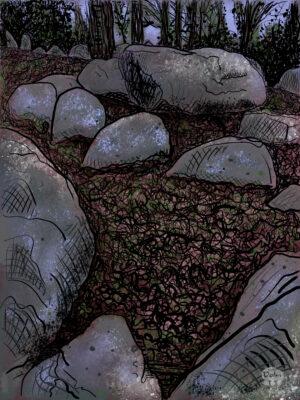 Een grafkamer in Schimmeres