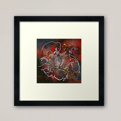 Art print; Rouffignac
