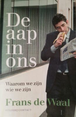 De aap in ons (coverfoto)
