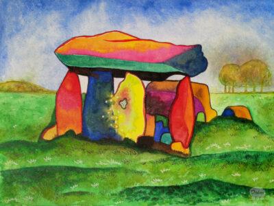 Kunstwerk Haroldstown dolmen / hunebed