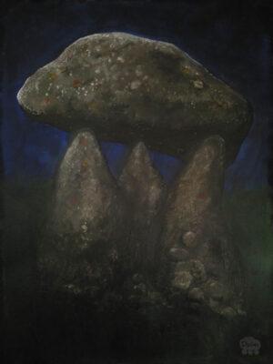 Dark dolmen no. 2, Hunebed Proleek (Proleek dolmen)