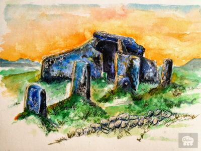 Coorful dolmen 04 Zennor Quoit