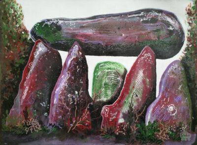 Hunebed kunst (dark dolmen 05)