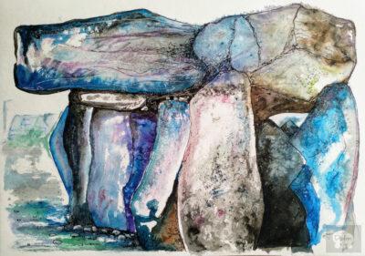 Colorful dolmen 05 artwork