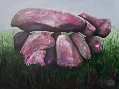 Hunebed D6 Tynaarlo kunstwerk